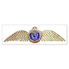 TPAW badge Bumper Sticker
