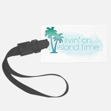 Island Time 1 Luggage Tag