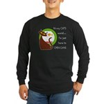 My Cat's World Long Sleeve Dark T-Shirt