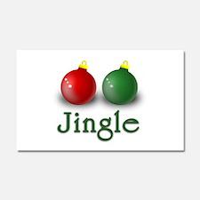 Jingle Car Magnet 20 x 12