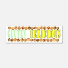 Gluten is Delicious Car Magnet 10 x 3