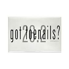 26.2 - Got Toenails? Rectangle Magnet (10 pack)
