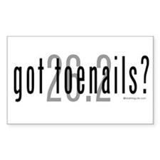 26.2 - Got Toenails? Decal
