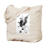 Ouch! Gryphon and Chick Tote Bag