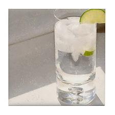 vodka tonic Tile Coaster