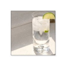 "vodka tonic Square Sticker 3"" x 3"""