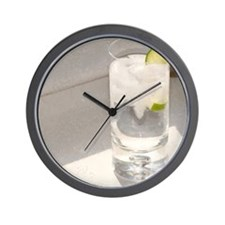 vodka tonic Wall Clock