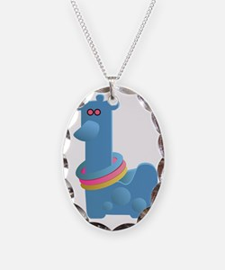 Giraffe Ring Toss Toy Necklace