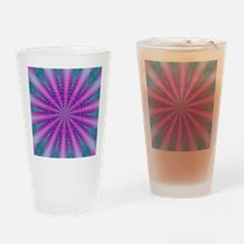 Fractalscope 01 Drinking Glass