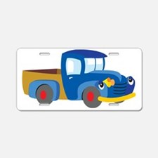 Toy Pickup Truck Aluminum License Plate