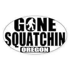 Gone Squatchin *Oregon - State Edit Decal