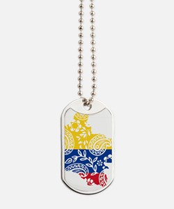 Colombia Paisley Dog Tags