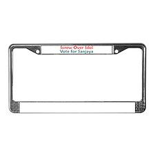 Screw Over Idol License Plate Frame