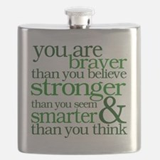 You are stronger than you seem Flask