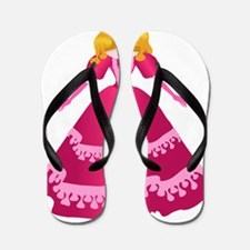 Pretty Princess Flip Flops