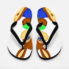 Bunny Friend Flip Flops