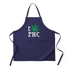 I Leaf THC Apron (dark)