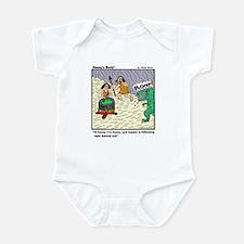 HONEY I'M HOME AND DINNER Infant Bodysuit