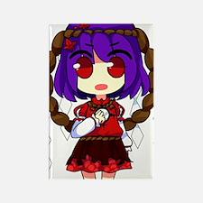 Chibi Kanako Rectangle Magnet