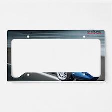 Super car poster License Plate Holder