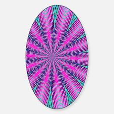 Fractalscope 01 Sticker (Oval)