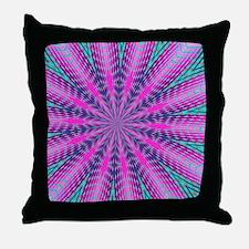 Fractalscope 01 Throw Pillow
