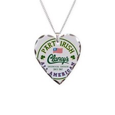Part Irish: All American - Cl Necklace Heart Charm