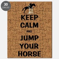 Keep Calm and Jump Your Horse Puzzle