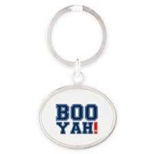 BOOYAH! Oval Keychain