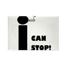 I CAN STOP SMOKING! Rectangle Magnet