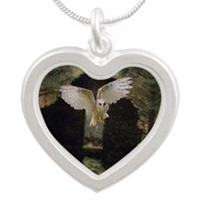 Abandoned Silver Heart Necklace