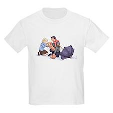 Lucy and Mr. Tumnus - Kids T-Shirt
