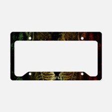 Rasta of Depth and Magnitude License Plate Holder