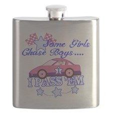 Some Girls Chase Boys Flask