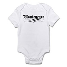 Montenegro Gothic Infant Bodysuit