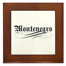 Montenegro Gothic Framed Tile