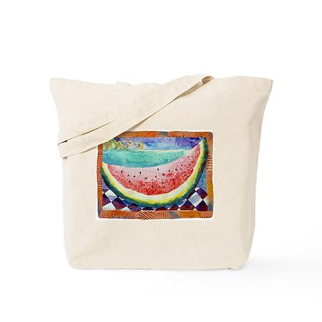 Moloka'i Watermelon Tote Bag