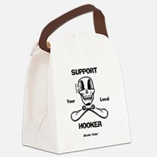 Support Your Local Hooker Canvas Lunch Bag