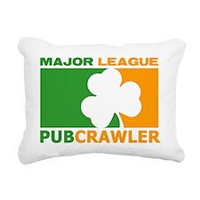 Pubcrawler Rectangular Canvas Pillow