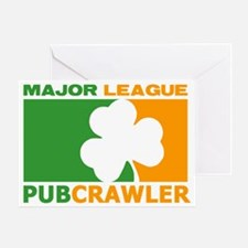Pubcrawler Greeting Card