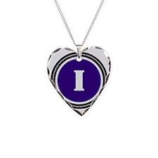 Purple I Necklace