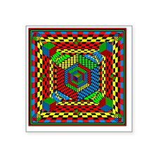 "Eye Candy Square Sticker 3"" x 3"""