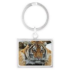Tiger Watch Landscape Keychain
