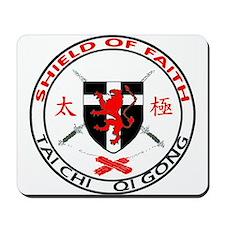 Shield of Faith Tai Chi Mousepad