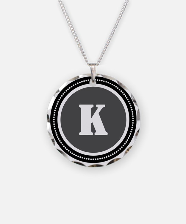 Gray K Necklace