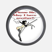 Please Sir, May I have another? Wall Clock