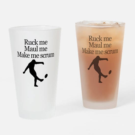 Make Me Scrum Drinking Glass
