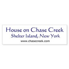 Chase Creek 02 Bumper Bumper Sticker