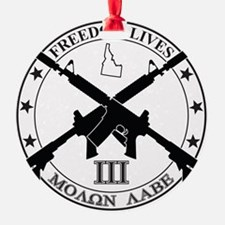 Freedom Lives ID Ornament