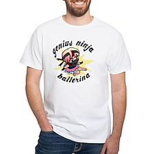 Genius Ninja Ballerina Shirt